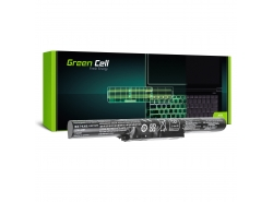Green Cell ® Laptop Akku L14L4A01 für Lenovo Z51 Z51-70 IdeaPad 500-15ISK