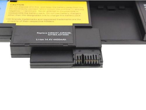 Green Cell ® Laptop Akku 42T4657 für IBM Lenovo ThinkPad Tablet X200 X201