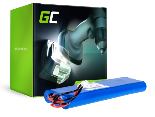 Green Cell® Batterie Akku (3.3Ah 18V) AU-18C AU-18V für Husqvarna Automower G2 SH Solar Hybrid 210C 220AC 230ACX 260ACX 265ACX