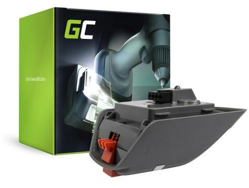 Green Cell® Batterie Akku (2.5Ah 18V) für Gardena Comfort 35 Roll-Up 8025-20