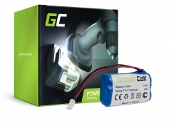 Green Cell® Batterie Akku (0.8Ah 7.4V) für Gardena C 1060 Plus Solar