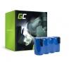Green Cell® Batterie Akku (3.3Ah 4.8V) für Gardena Accu 75 8802-20 8816-20 8818-20