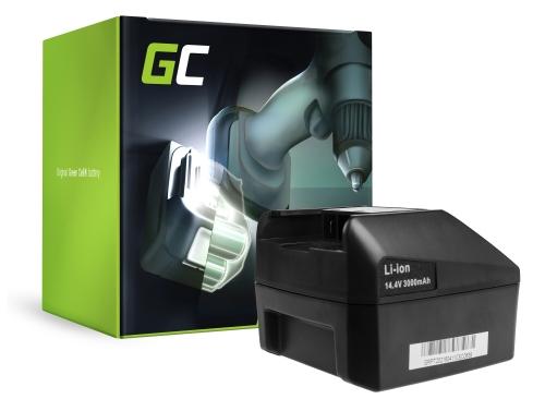 Green Cell® Batterie Akku (3Ah 14.4V) für FEIN ABLK ABLS 1.3 1.6 ABS ABSS AFMM ASB ASCM ASCS ASCT ASM ASW 14
