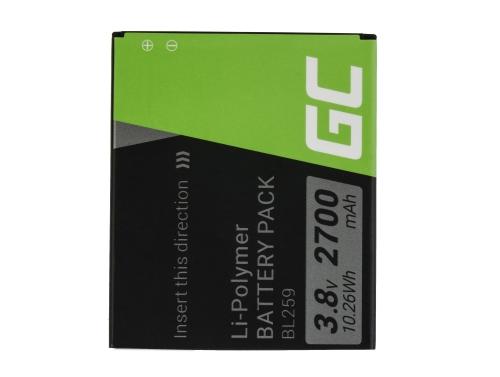 Baterie pro mobilní telefony Green Cell Cell® BL259 pro Lenovo K3 K5 K5 Plus C2 Lemon 3