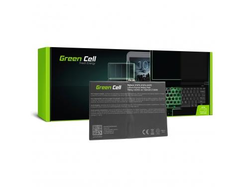 Akku Green Cell A1664 für Apple iPad Pro 9.7 A1673 A1674 A1675 A1954 6th Gen