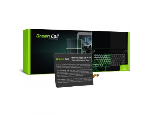 Green Cell ® Akku EB-BT111ABE EB-BT115ABC für Samsung Galaxy Tab 3 Lite T110 T113 T116 Neo T111