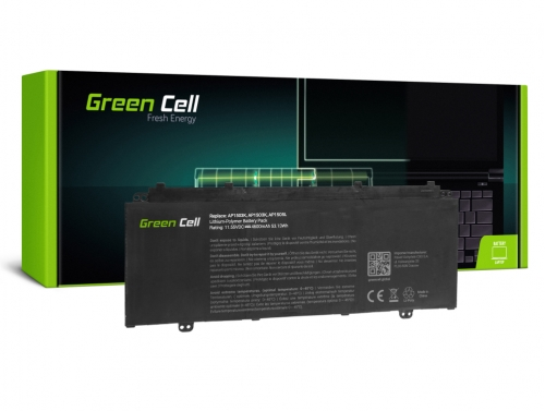 Green Cell Laptop Akku AP15O3K AP15O5L für Acer Aspire S 13 S5-371 S5-371T Swift 5 SF514-51 Chromebook R 13 CB5-312T