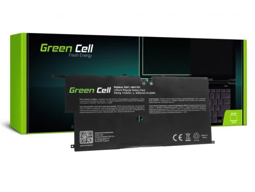 Green Cell ® Akku 45N1700 45N1701 45N1702 45N1703 für Lenovo ThinkPad X1 Carbon 2nd Gen