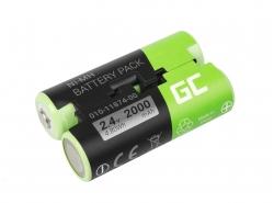 Green Cell ® Akku 010-11874-00 für GPS Garmin Astro 430 Oregon 600 700 750T GPSMAP 64 64s 66s Striker 4
