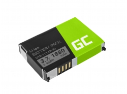 Akku Green Cell ® 010-11143-00 für GPS Garmin Aera 500 510 550 560 Nuvi 500 510 550 Zumo 210 600 650 660, Li-Ion 1880mAh 3.7V