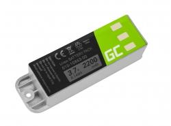 Akku Green Cell ® 010-10863-00 011-01451-00 für GPS Zumo 400 450 500 550 400 GP 500 GP 500 Deluxe, Li-Ion zellen 2200mAh 3.7V