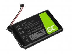 Akku Green Cell ® KE37BE49D0DX3 für GPS Garmin Edge 800 810 Nuvi 1200 1260 2300 2460 2475 2515 2789LMT, Li-Ion 1000mAh 3.7V