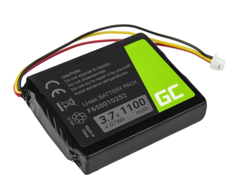 Akku Green Cell ® F650010252 für GPS TomTom NVT2B225 One Europe V2 V3 V5 One XL IQ Regional S4l Rider Li-Ion zellen 1100mAh 3.7V