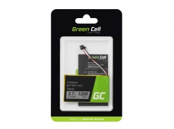 Green Cell ® Akku Topaz für GPS Navigon 70 70/71 Plus Easy Premium