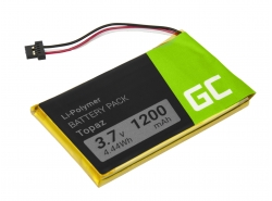 Akku Green Cell Topaz für GPS Navigon 70 Plus 70/71 Plus 70/71 Premium 70/71 Easy, Li-Polymer zellen 1200mAh 3.7V