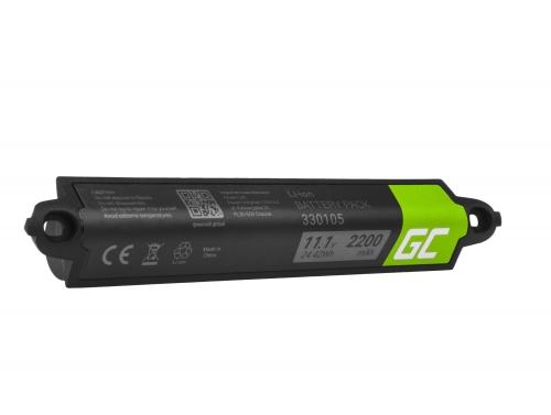 Green Cell Akku 330105 330105A 330107 330107A für Lautsprecher Bose SoundLink Bluetooth I II III SoundTouch 20, 11.1V 2200mAh