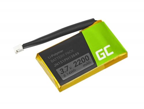 Green Cell Akku JN151PH13849 JN14BAH31215 JN14CUH25201 PR-652954 für Lautsprecher JBL Flip 2 Flip II 2014, Li-Polymer 2200mAh