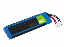 Green Cell Akku GSP872693 01 GSP87269301 für Lautsprecher JBL Flip 4 Flip IV Flip 4 Special Edition, Li-Polymer 3.7V 3000mAh
