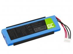 Green Cell Akku, Batterie GSP872693 P763098 03 für Lautsprecher Bluetooth JBL Flip III Flip 3, Li-Polymer 3.7V 3000mAh