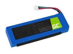 Green Cell ® Akku GSP1029102R P763098 für Lautsprecher JBL Charge 2 Charge 2 Plus Charge 2+ Charge 3 2015 version, 3.7V 6000mAh
