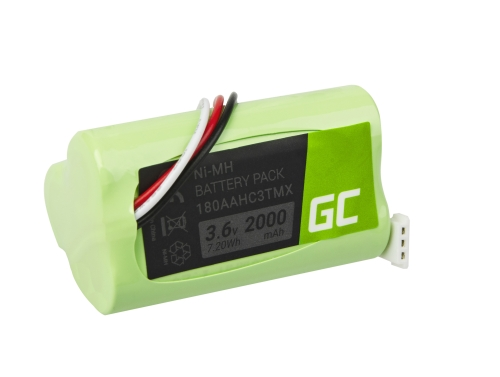 Green Cell Akku 180AAHC3TMX für Lautsprecher Logitech S315i S715i Z515 Z715 S-00078 S-00096 S-00100, NI-MH 3.6V 2000mAh