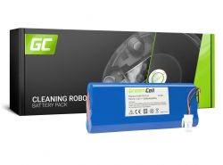 Green Cell® Batterie Akku (3.5Ah 14.4V) für Samsung Navibot SR9630 VC-RA50 VC-RA52V VC-RA84V VC-RE70V VC-RE72V