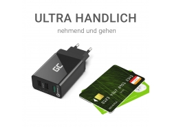 Univerzální USB x 3, DC 5V 2.4A x2, DC 12V 1.5A x1