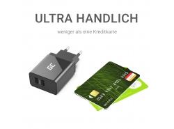 Universal USB x 2, DC 5V 2.4A
