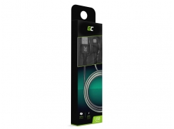 Kabel Draht Green Cell Lightning-USB für Apple iPhone Nylon 1m