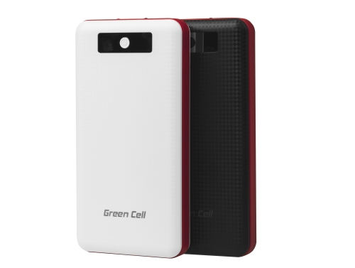 Power Bank Green Cell 24000mAh Schnellladung Qualcomm Quick Charge 3.0