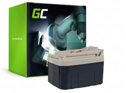 Akku Green Cell ® für Makita  2417 2430 B2420 BH2420 BH2433 193739-3 193128-2 24V 3Ah