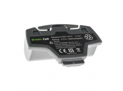 Green Cell ® Akkuwerkzeug 2.633-123.0 für Kärcher WV5 Plus 3.7V 2.5Ah