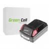Green Cell ® Akkuwerkzeug 48-11-1830 für Milwaukee C18 M18 18V 2000mAh