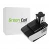Green Cell ® Akkuwerkzeug für Hilti SB-10 SFB 105 3.3 Ah 9.6 V