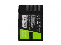 Green Cell ® DMW-BLF19E Kamera-Akku für Panasonic Lumix DC GH5 GH5s G9 DMC GH3 GH4 GH3K GH4K, Full Decoded (Li-Ion 7.4V 1900mAh)