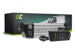 Akku Batterie Green Cell Silverfish Panasonic Zellen 36V 14.5Ah 522Wh für Elektrofahrrad E-Bike Pedelec
