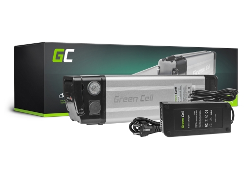 Akku Batterie Green Cell Silverfish Panasonic-Zellen 48V 11.6Ah 557Wh für Elektrofahrrad E-Bike Pedelec