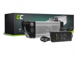 Akku Batterie Green Cell Silverfish 48V 17.4Ah 835Wh für Elektrofahrrad E-Bike Pedelec