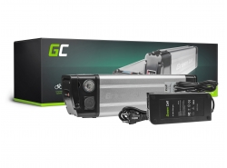 Akku Batterie Green Cell Silverfish 24V 11.6Ah 278Wh für Elektrofahrrad E-Bike Pedelec