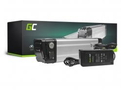 Akku Batterie Green Cell Silverfish 24V 20.3Ah 487Wh für Elektrofahrrad E-Bike Pedelec