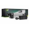 Akku Batterie Green Cell Silverfish 36V 11Ah 396Wh für Elektrofahrrad E-Bike Pedelec