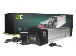 Green Cell® Baterie Pro Elektrokola 36V 14.5Ah Li-Ion Panasonic články Silverfish s Nabíječkou