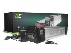 Akku Batterie Green Cell Silverfish 48V 11.6Ah 557Wh für Elektrofahrrad E-Bike Pedelec