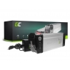 Akku Batterie Green Cell Silverfish 24V 14.5Ah 348Wh für Elektrofahrrad E-Bike Pedelec