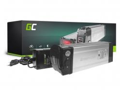 Green Cell ULTRA® E-Bike Akku 48V 20.4Ah Li-Ion Markenzellen Silverfish Batterie mit Ladegerät