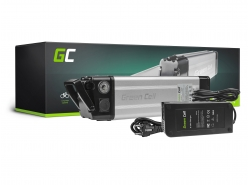 Akku Batterie Green Cell Silverfish 36V 8.8Ah 317Wh für Elektrofahrrad E-Bike Pedelec