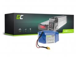 Akku Batterie Green Cell Silverfish 24V 27.2Ah 653Wh für Elektrofahrrad E-Bike Pedelec