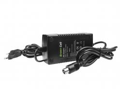 Green Cell ® Ladegerät für Elektrofahrräder, Stecker: RCA, 29.4V, 2A