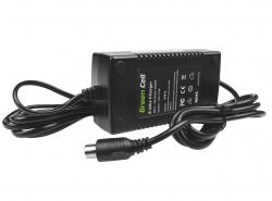 Ladegerät für Elektrofahrräder, Stecker: RCA, 42V, 2A