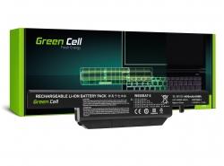 Green Cell Laptop Akku W650BAT-6 für Clevo W650 W650SC W650SF W650SH W650SJ W650SR W670 W670SJQ W670SZQ1